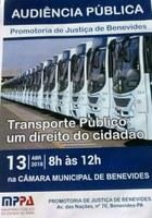 Audiência Pública - Transporte Público: um direito do cidadão